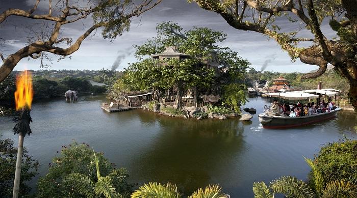 Adventureland cong vien disneyland hong kong