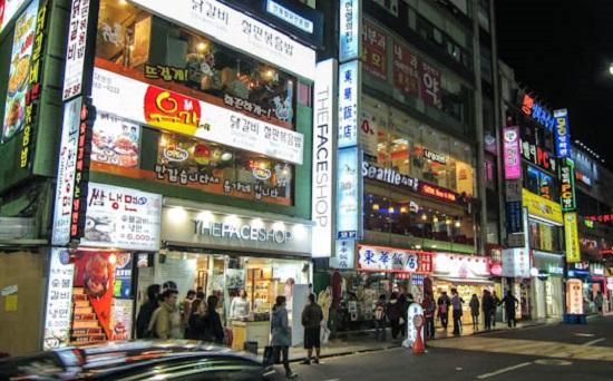 Cho dem Dongdaemun