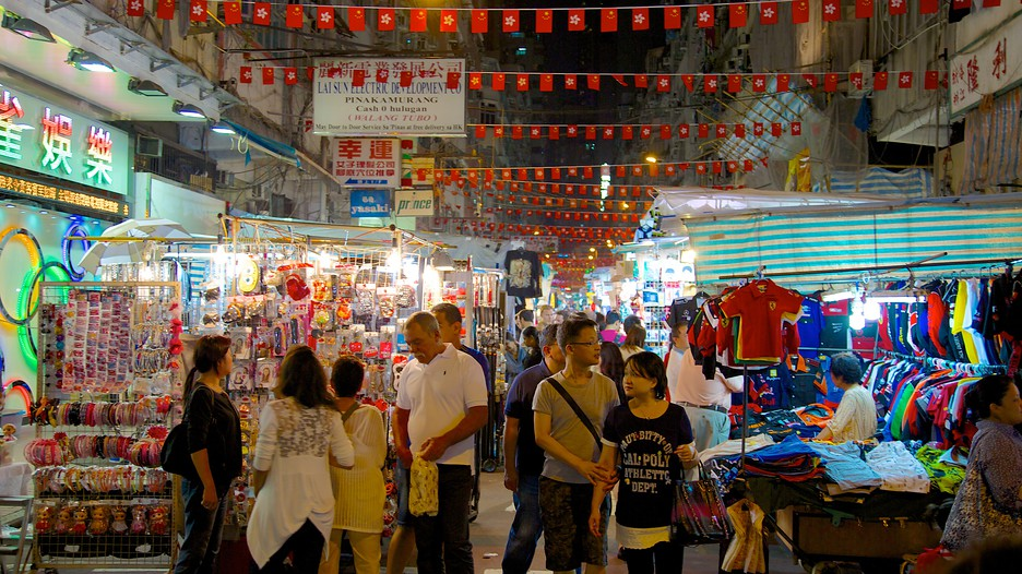 Temple Street Night Market cuu long