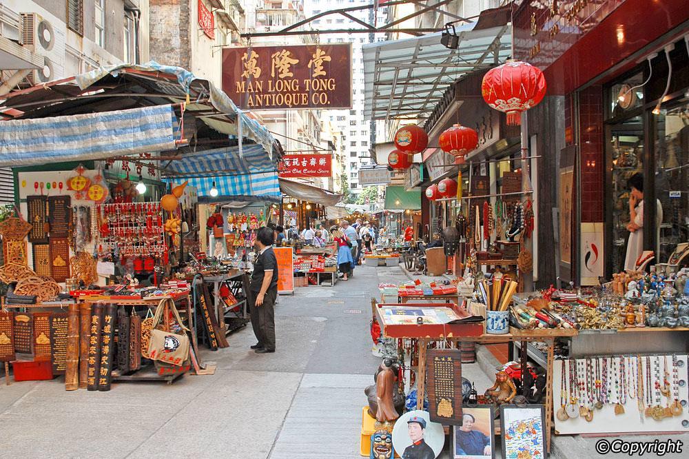 cat street in hong kong