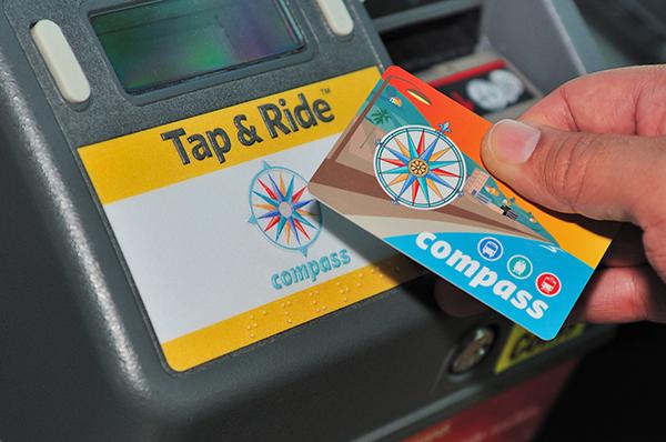 CompassCardTAP Bus