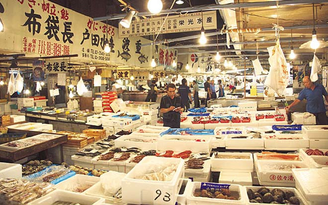 cho ca Tsukiji 6