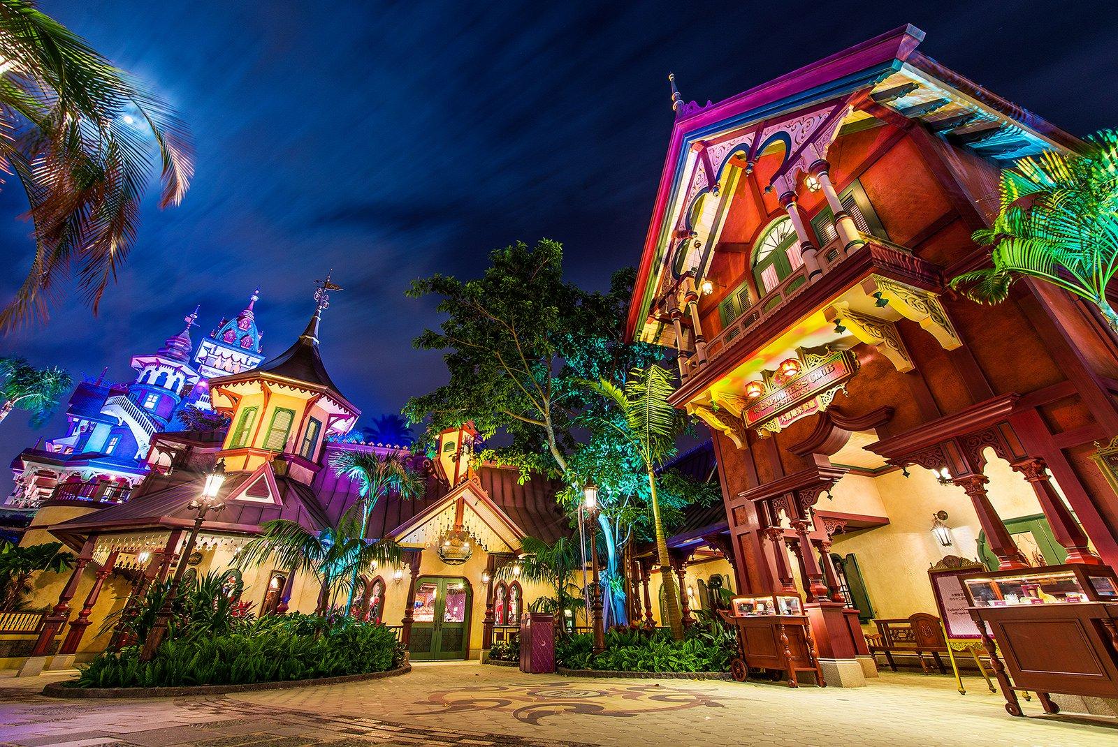 nha hang o Hong Kong Disneyland