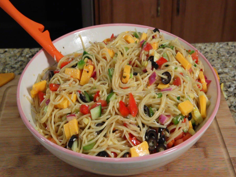 mi Spaghetti Salad