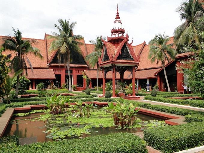 Bao tang Quoc gia Campuchia 1