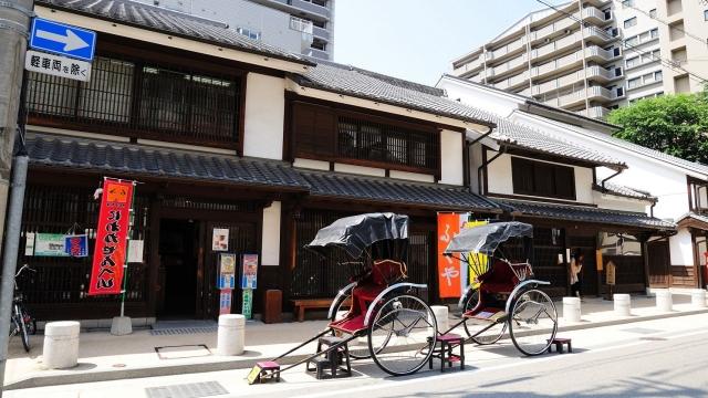 bao tang dan gian Hakata Machiya