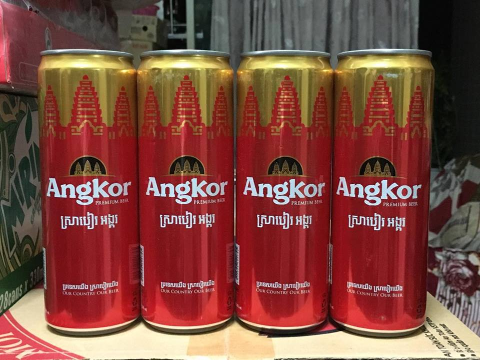 bia Angkor 4