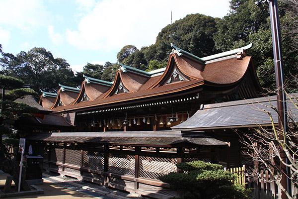 den Sumiyoshi jinja
